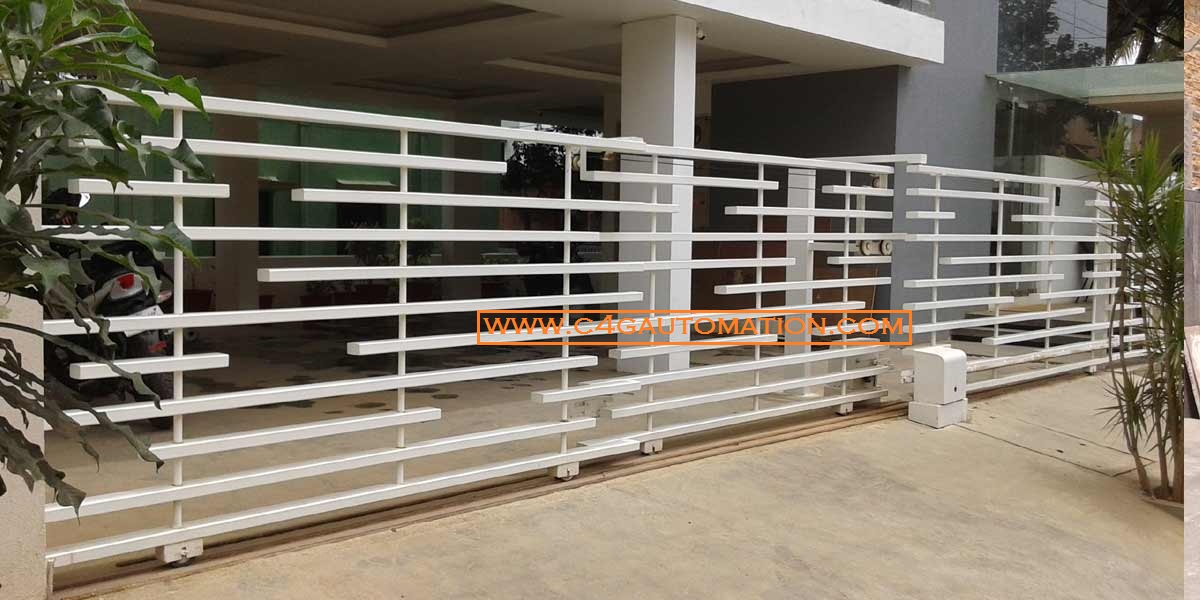 Residential Villa Home Sliding Automatic Gate Designs