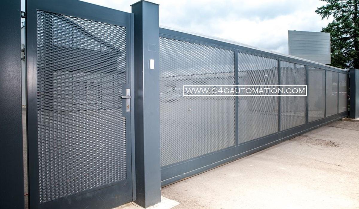 Automatic Industrial Sliding Gates Manufacturers Bangalore