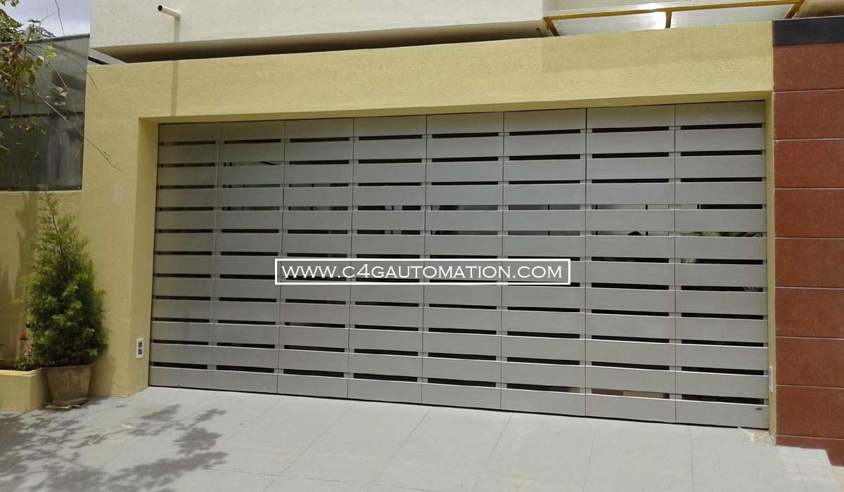 Commercial Corner Fold Hanging Garage Doors Manufacturers
