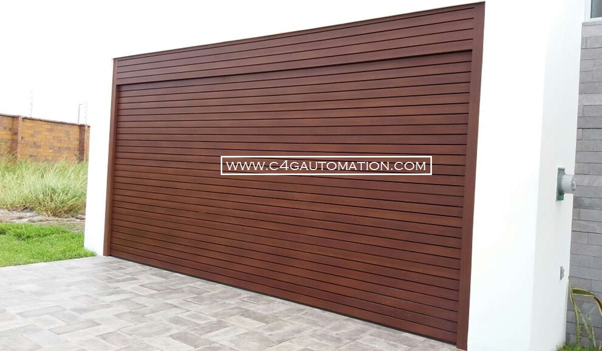 Automatic Residential Sectional Garage Doors Manufacturers Dealers India