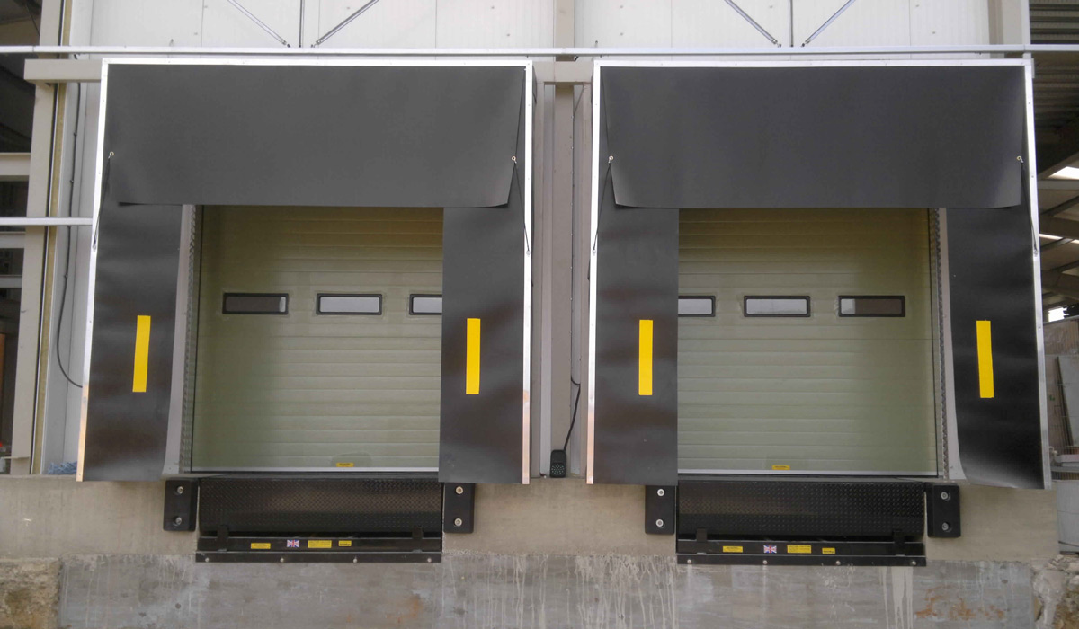 Motorised Automatic Dock Shelters Manufacturers Bangalore